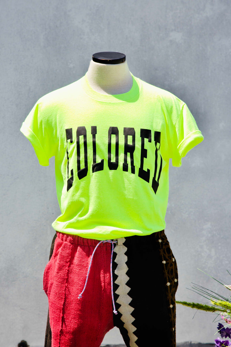 Neon Varsity Colored t-shirt