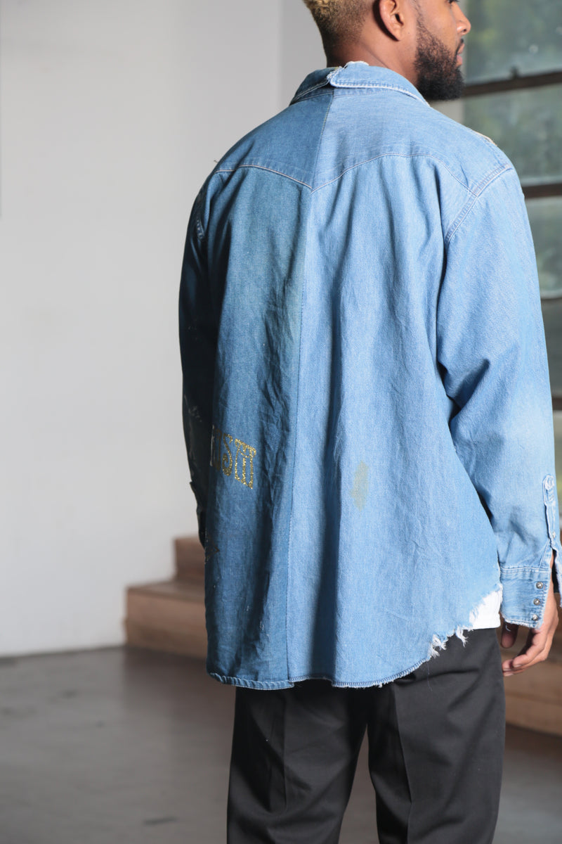 Wild Jungle Denim Shirt