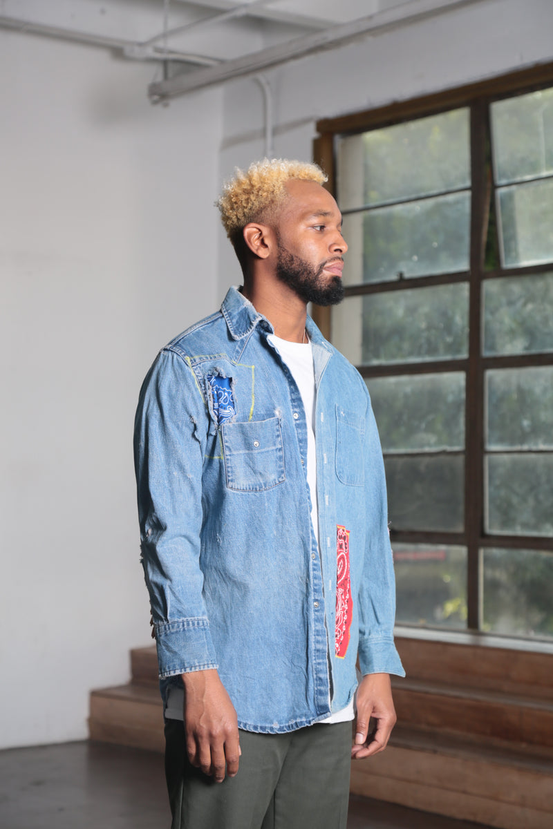 Black Rodeo Denim Shirt
