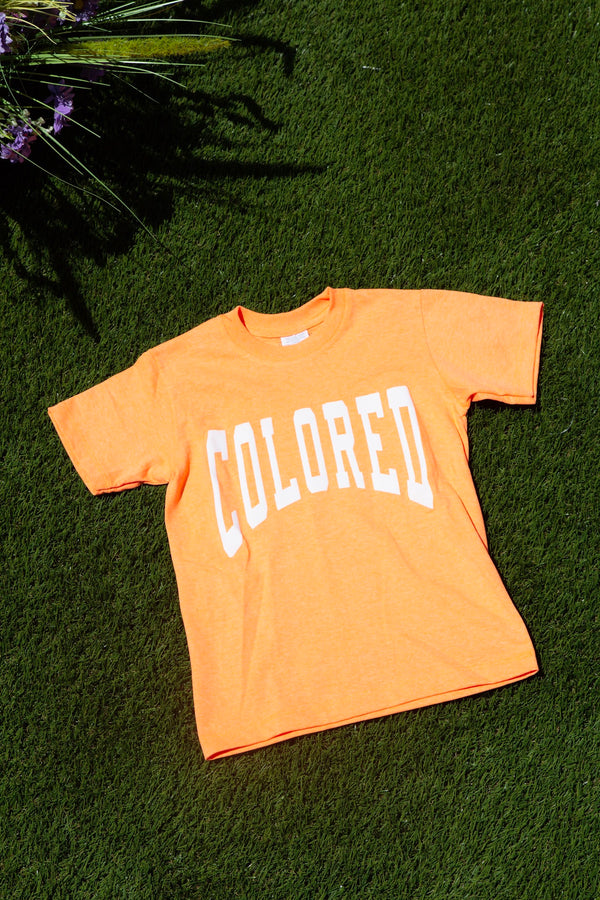 Kids Neon Colored T-shirt