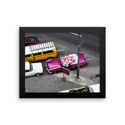 Views in Habana Framed photo paper poster