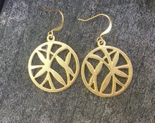Golden Bamboo Earrings