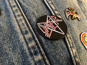 Slayer Star Pin