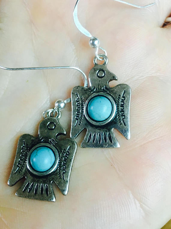 Sacred Bird Earrings