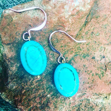 Healing Turquoise Earrings