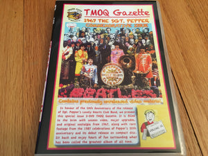 The Beatles TMOQ 1967 The Sgt Pepper Commemorative Issue 2 Disc DVD