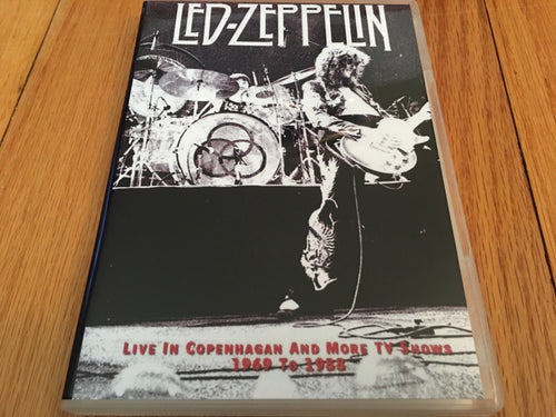 Led Zeppelin Live in Copenhagen and More 1969 to 1988