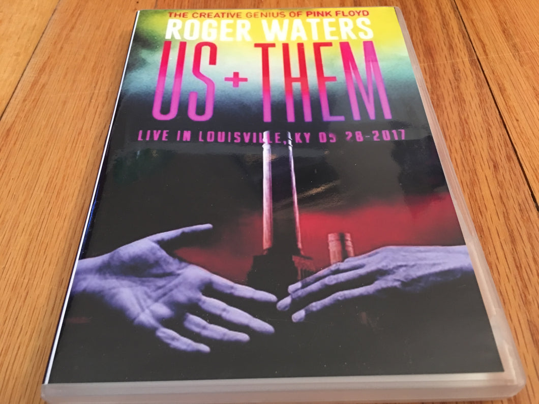 Roger Waters Us+Them Louisville Live 2017 2 Disc DVD