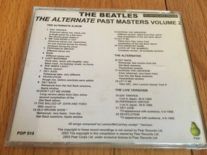 The Beatles The Alternate Past Masters Vol 2