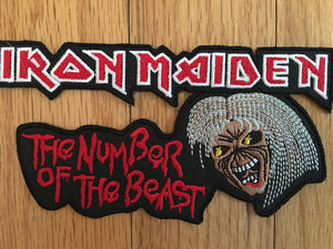 Iron Maiden Number of the Beast Patch