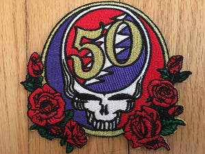 Steal Your Face 50th Anniversary Patch