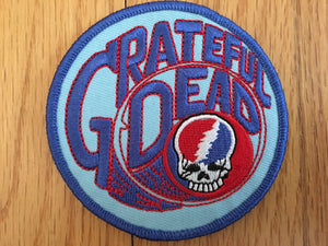 Light Blue Grateful Dead Patch