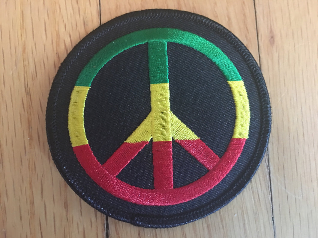 Rasta Peace Patch