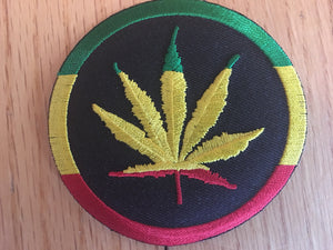 Circle Rasta Flower Patch