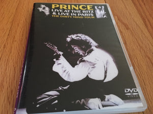 Prince Live at the Ritz and Live in Paris
