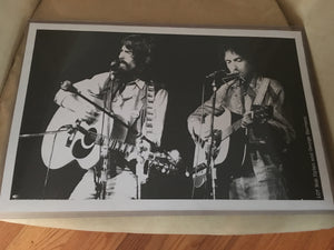Dylan and George Bangladesh Print