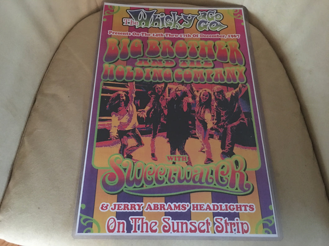 Big Brother and the Holding Company Sunset Strip Print