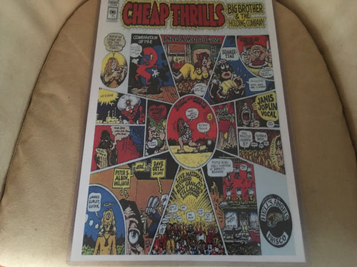 Big Brother and the Holding Company Cheap Thrills Print