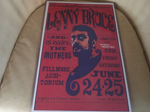 Lenny Bruce in Concert Print