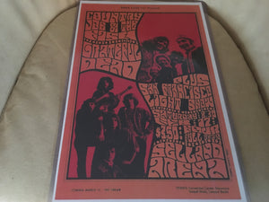 Country Joe and The Fish/ Grateful Dead Print