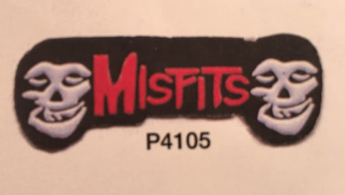Misfits Outline Pin