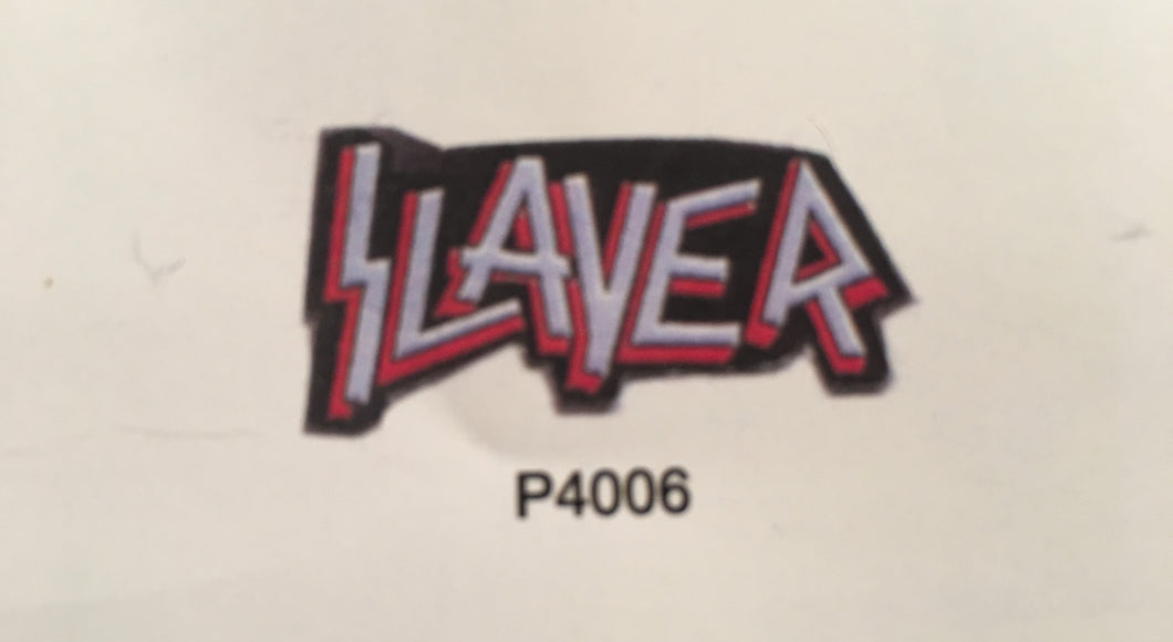Slayer Outline Pin