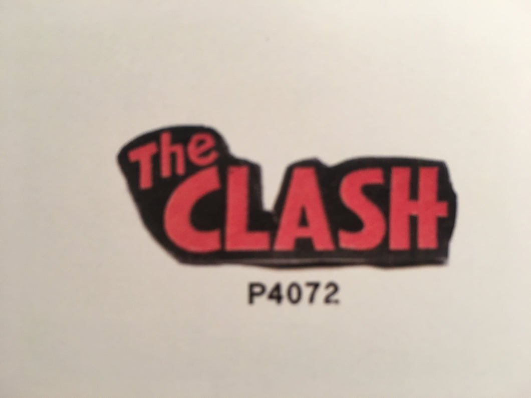 The Clash Red Pin