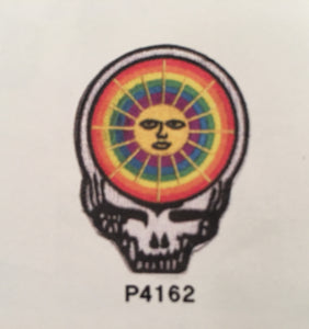 Steal Your Face Sun Pin