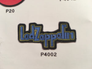 Led Zeppelin Blue Pin