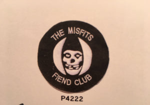 The Misfits Fiend Club Pin