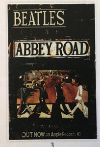The Beatles Abbey Rd Print