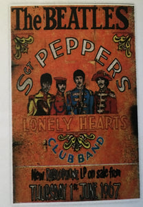 The Beatles Sgt Pepper Concert Print