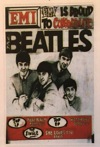 The Beatles EMI Print
