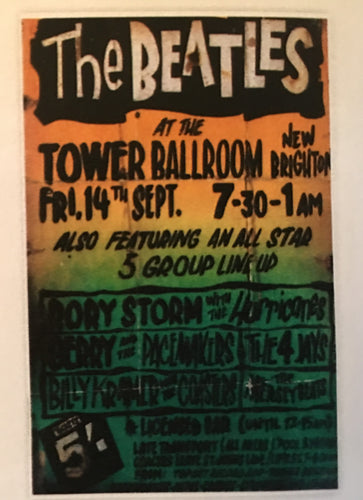 The Beatles Concert Print