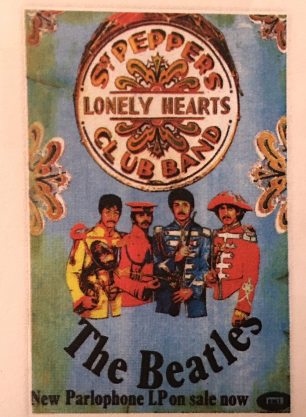 The Beatles Sgt Pepper Print