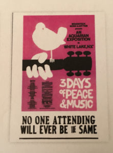 Woodstock Postcard