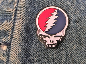 Steal Your Face Pin