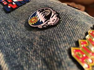 Steal Your Face Sun and Moon Pin