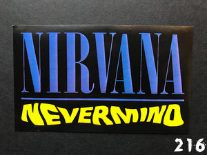 Nirvana Nevermind Sticker
