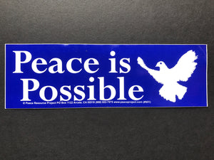 Peace is Possible Sticker