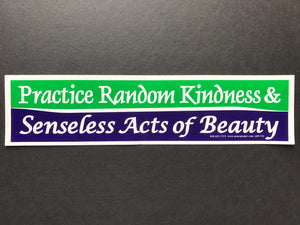 Practice Random Kindness Sticker