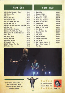 Paul McCartney TMOQ Des Moines 10/27/2005 2 CD Set