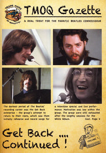 The Beatles TMOQ Get Back...Continued! 2 CD Set