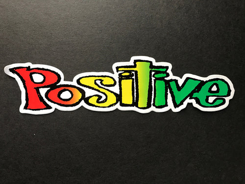 Rasta Positive Sticker