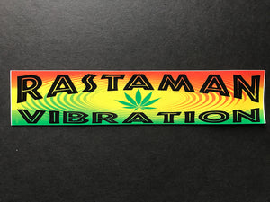 Rastaman Vibration Sticker