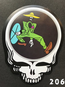 Grateful Dead Steal Your Face Shakedown Sticker