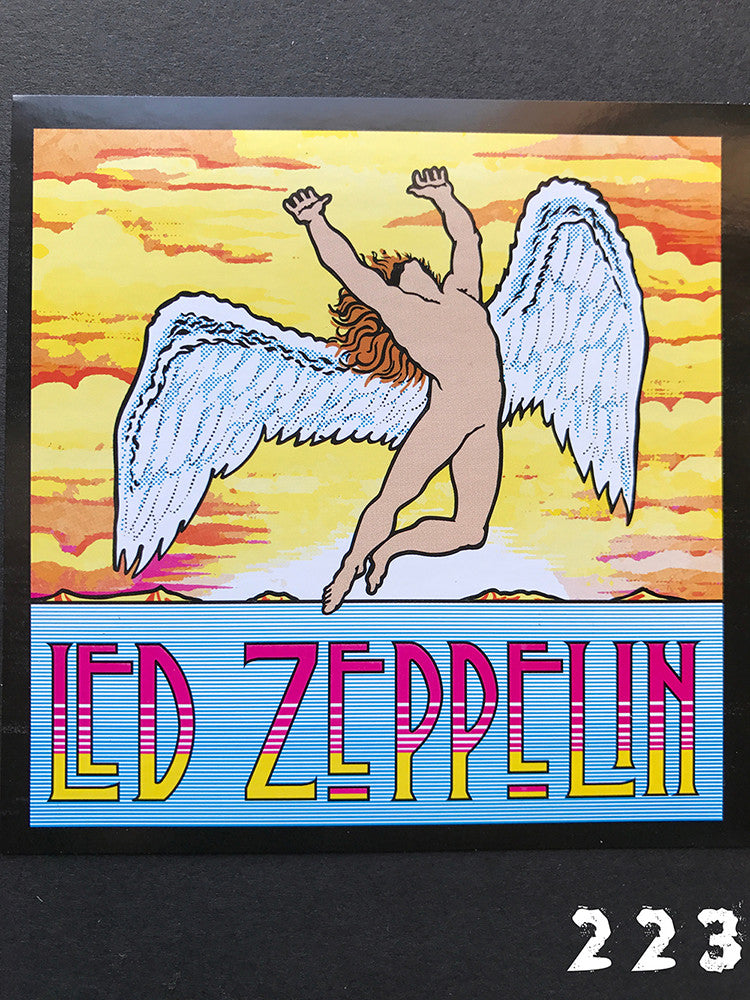 Led Zeppelin Swan Song 2 Sticker