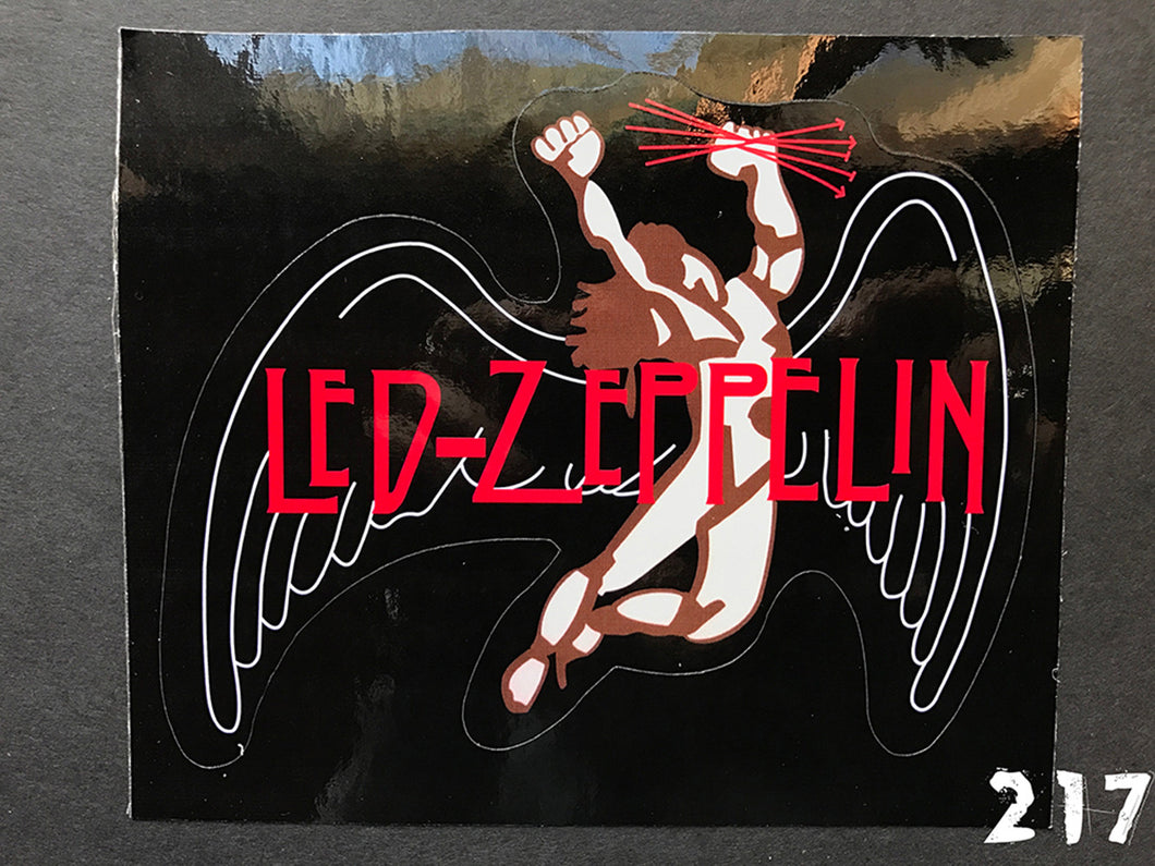 Led Zeppelin Swan Song Sticker