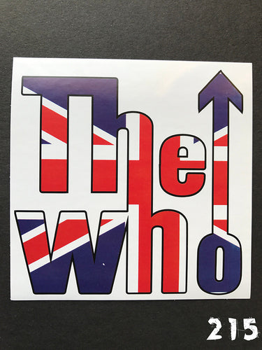 The Who Logo Sticker