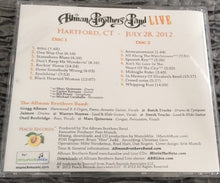 Allman Brothers Band Double Disc CD